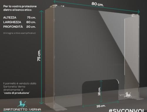 Protezione parafiato in plexiglass